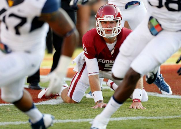 Knight won't be looking up at anyone on the depth chart this spring. (Photo courtesy: greenwichtime.com)