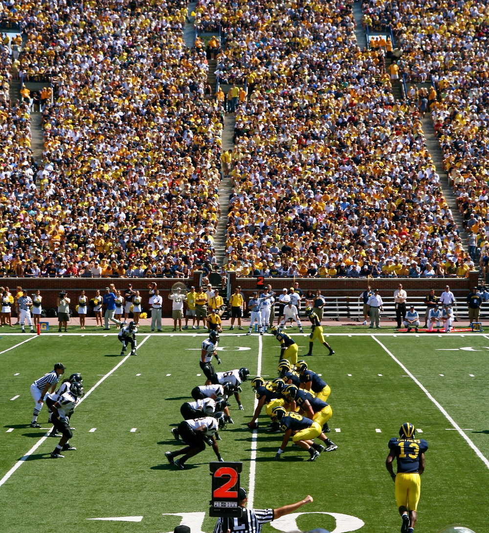 Appalachian State-Michigan... Our forefathers would have wanted it this way. (Image courtesy: Wikimedia Commons)