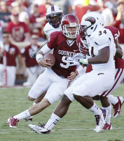 Trevor Knight's legs have helped transform OU's offense.
