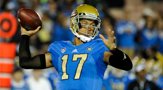 Brett Hundley is leading the No. 1 team in the country – this week. (Image courtesy: CBSSports.com)