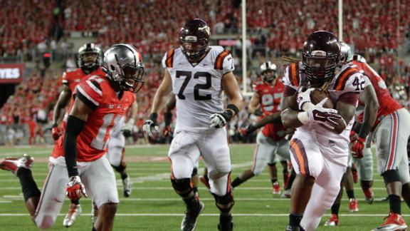 Virginia Tech only won six games this year, but one was the best non-conference victory of the season. (Image courtesy: Bloguin.com)