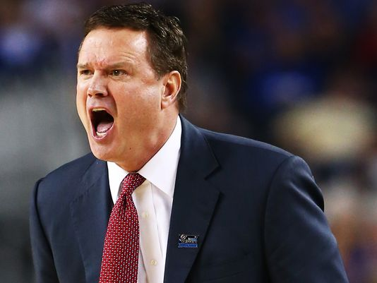 Good luck figuring out Bill Self's Jayhawks. (Image: USA Today)