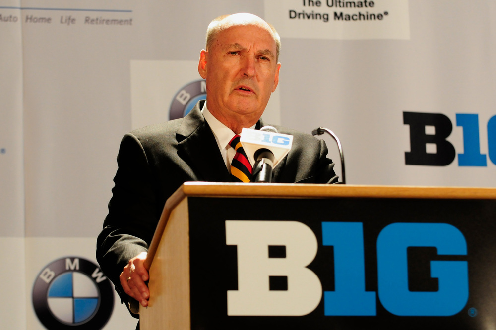I, for one, welcome our new Big Ten overlords. (Image: USA Today Sports)