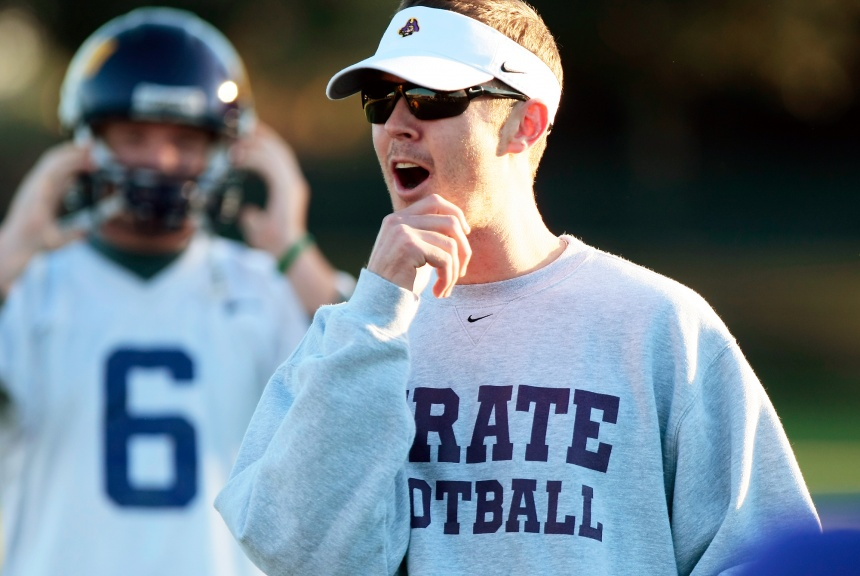 Showtime for OU's new offensive coordinator. (Image: USA Today Sports)