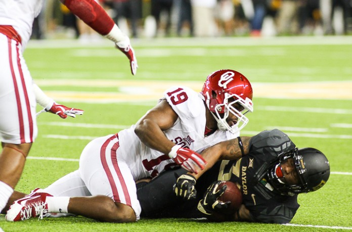 OU's defensive MVP for 2015. (Image: baylorlariat.com)