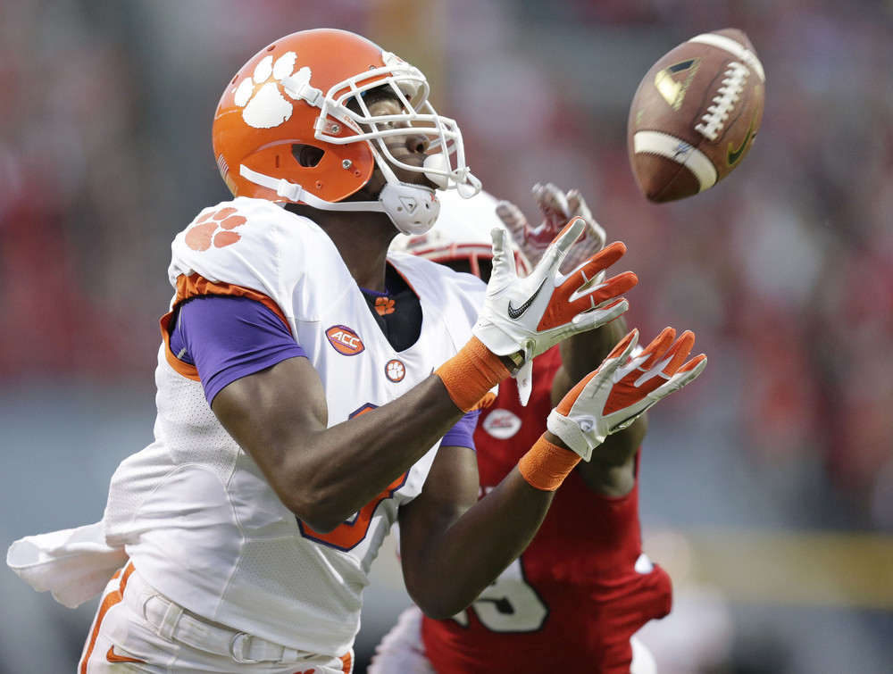 Clemson's Deon Cain won't be going deep against Oklahoma. (Image: sun-sentinel.com)