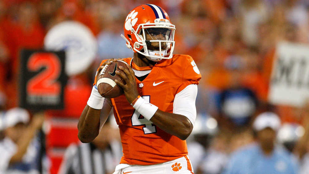 Deshaun Watson's Heisman chances definitely got a boost in the Orange Bowl versus Oklahoma. (Image: sportingnews.com)