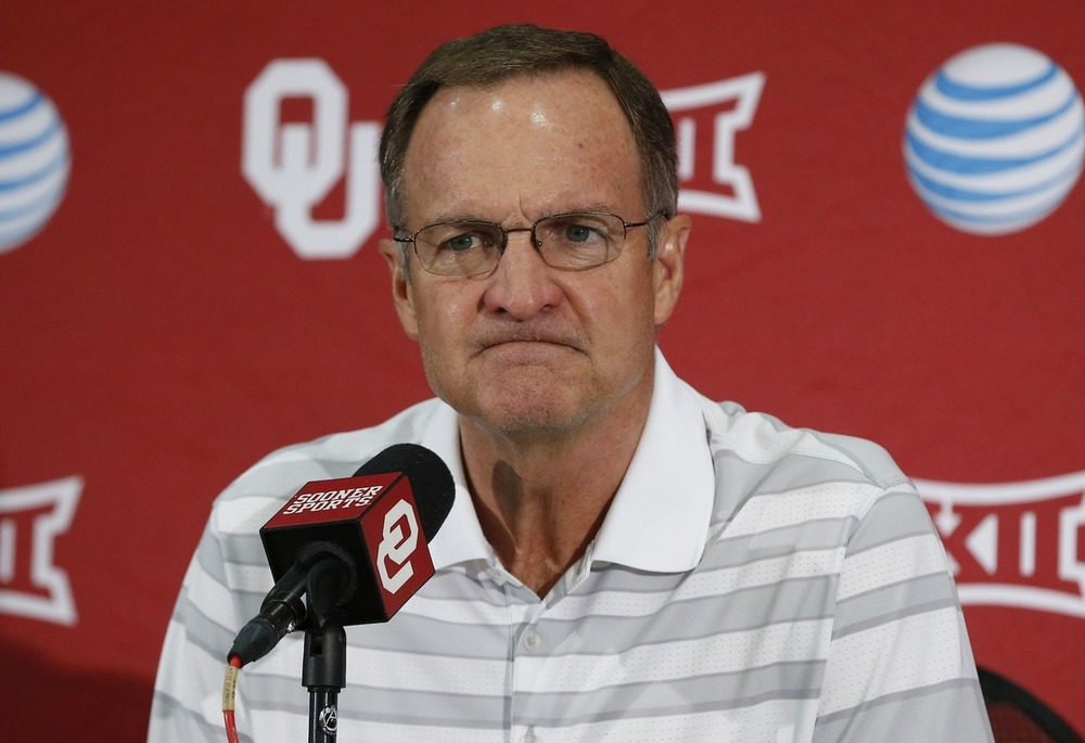 The meanest-looking picture of Lon Kruger in existence.