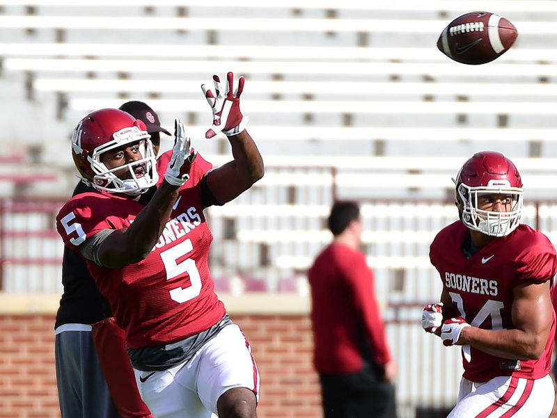 Geno Lewis could add some explosiveness to OU's passing game this year.