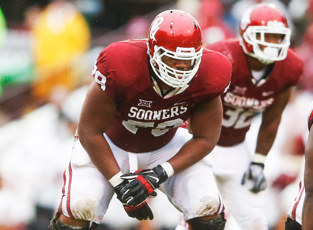Zeus Jr. might be the best offensive lineman in the Big 12.