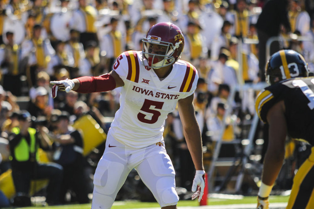 Allen Lazard will look to light up OU's secondary on Thursday night.