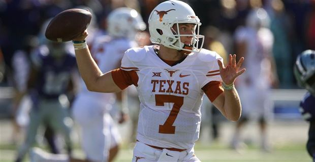 Shane Buechele's numbers tailed off badly late in 2016.