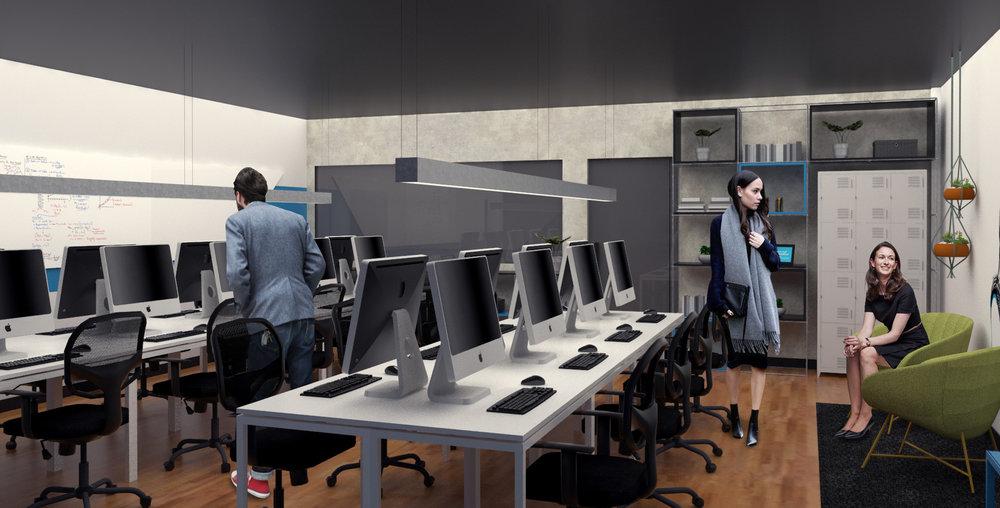 Sala de trabalho