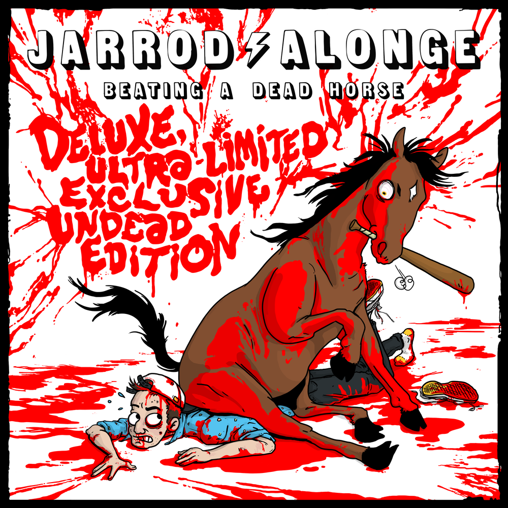 Deluxe/Re-Issue Album Art for Jarrod Alonge.