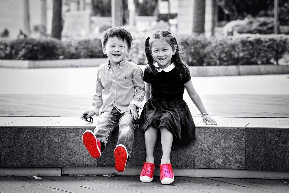 DSC_6844 kids laugh BW colorized FINAL web gallery.jpg