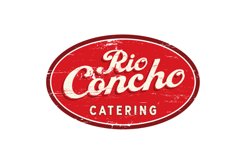 Logo Design: Rio Concho Catering. Just finished for our friends at Rio Concho.