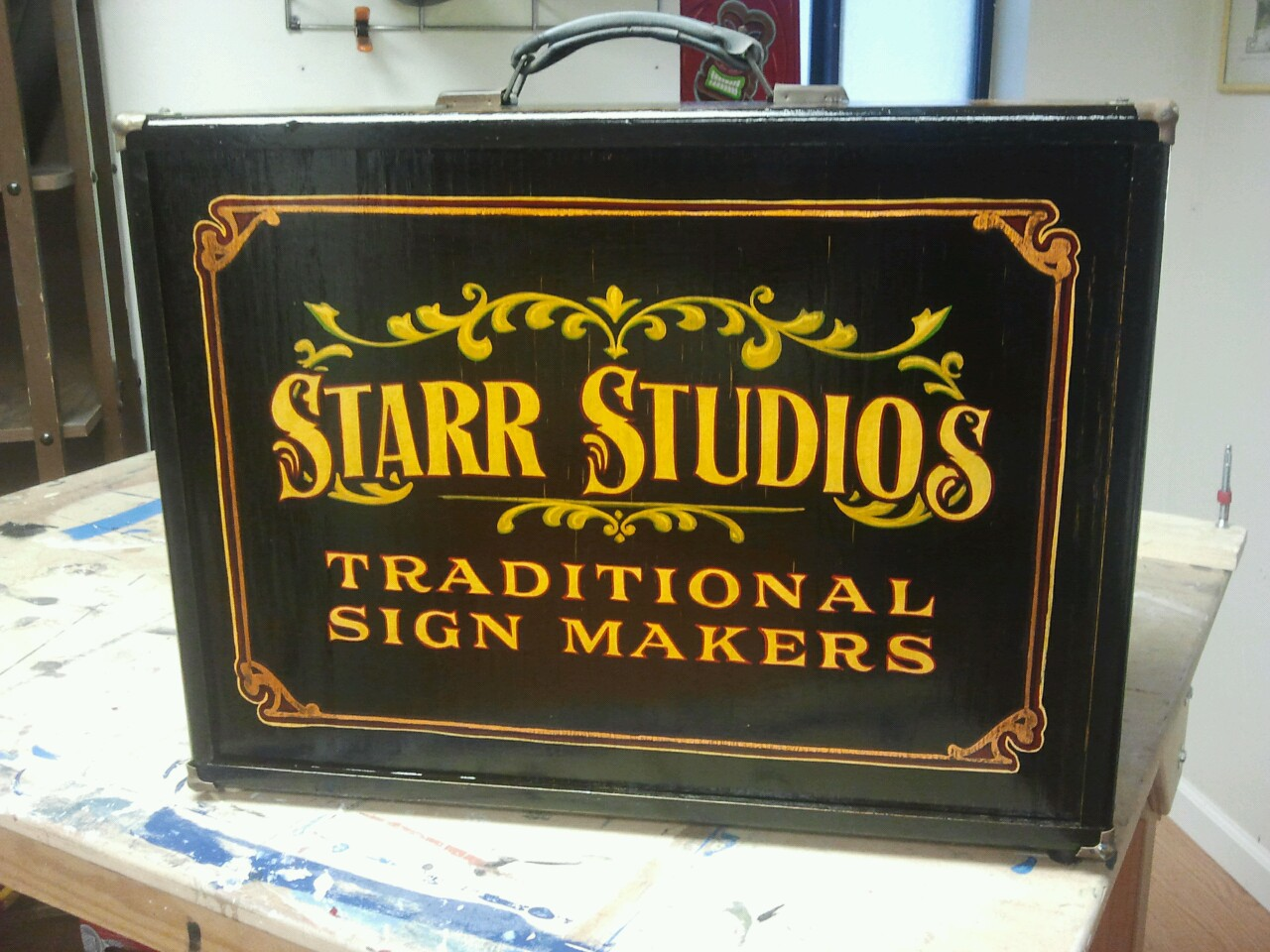 Our sign painting kit