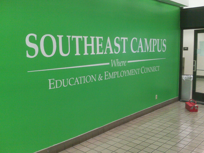 Hand Painted Wall Signage