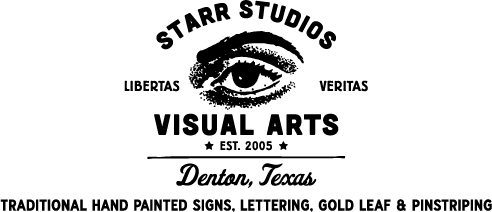 Sign Painters: Dallas Fort Worth Hand Painted Signs Lettering Gold Leaf & Pinstriping