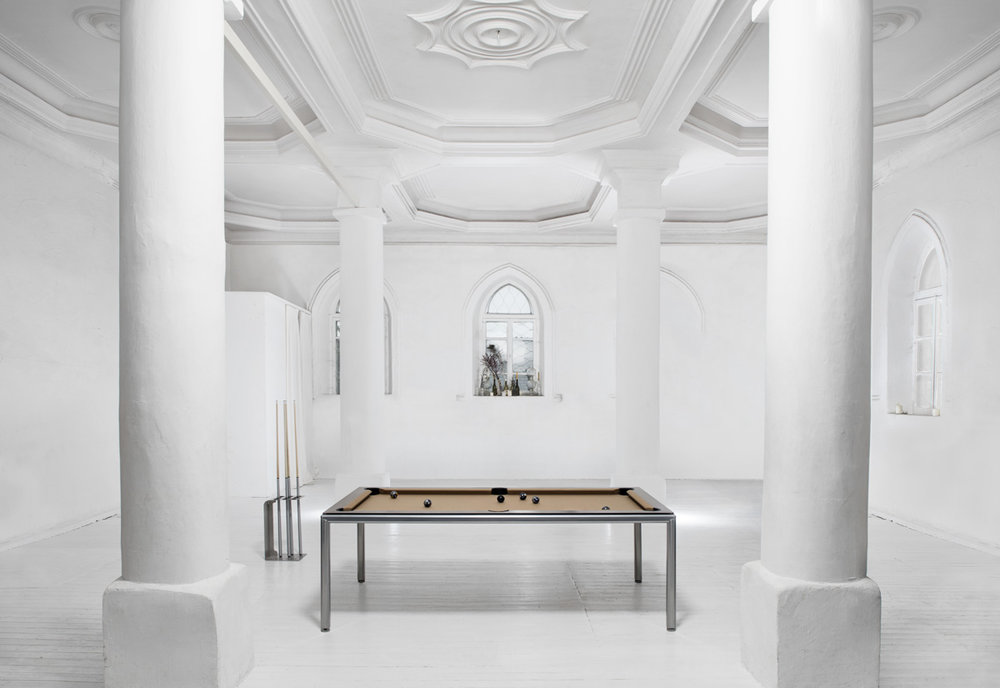 Billiard dining table Pronto Ultra in Sinagoga (internet).jpg