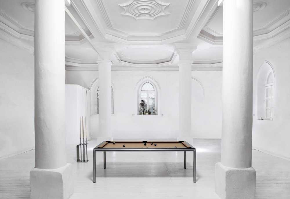 Billiard dining table Pronto Ultra in Sinagoga.jpg