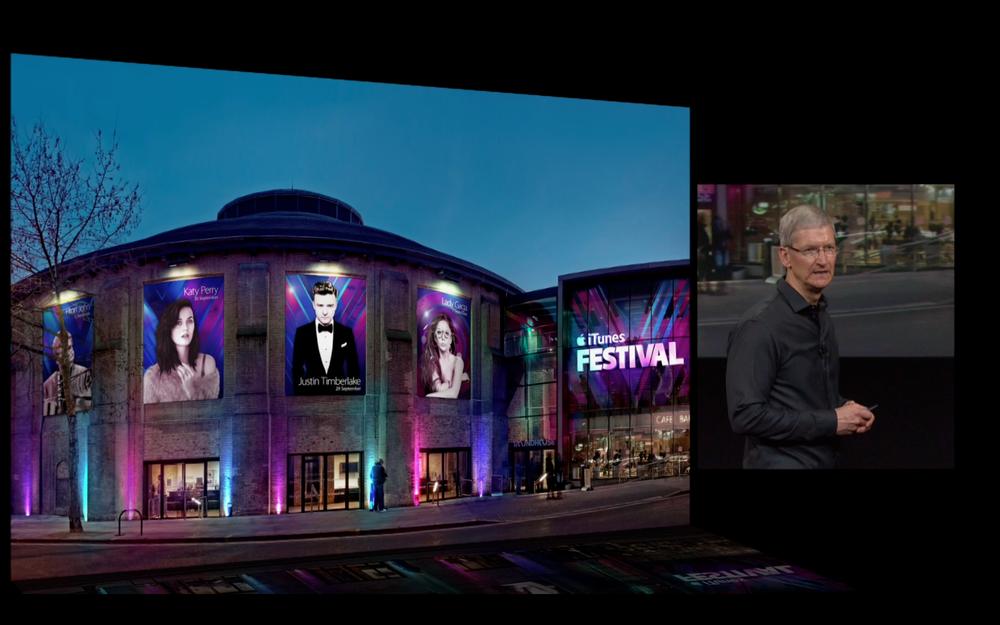 L'iTunes Festival a lieu à Londres
