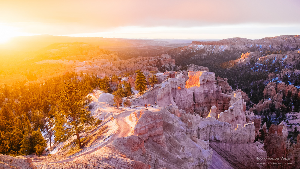 Lever de soleil sur Bryce Canyon, un instant magique