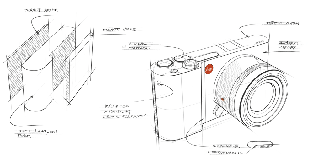 Un design brut Le design Leica, réinterprété par Audi