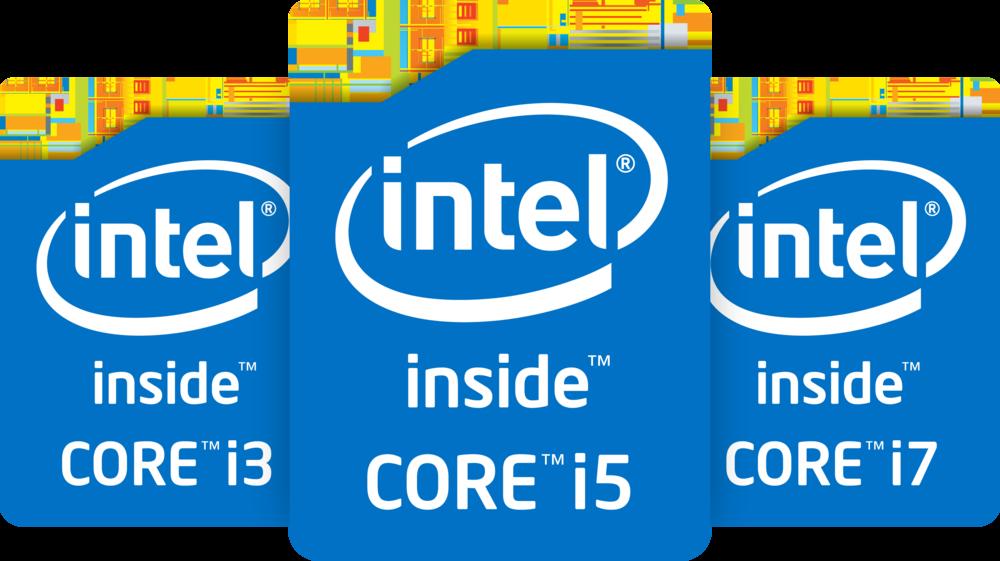 Les trois modèles de processeurs Intel les plus connus : la gamme Intel Core