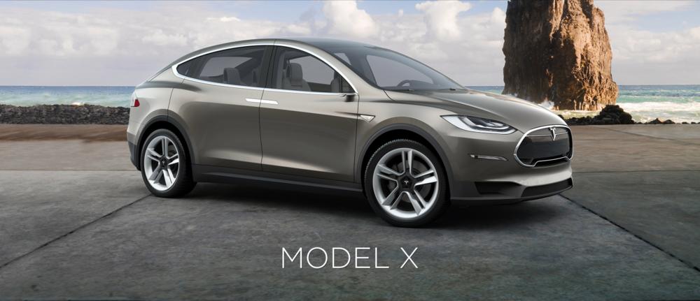 Le Model X, un nouveau modèle, plus compact