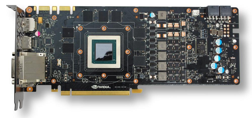 Le PCB de référence de la nVidia GTX 980 Ti...