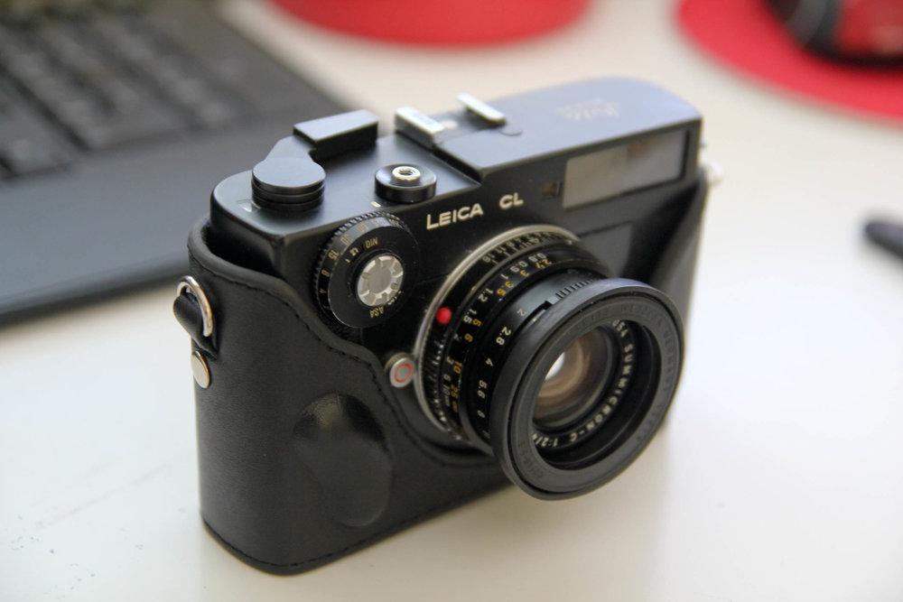 L'antique Leica CL de 1973…Leitz Minolta CL