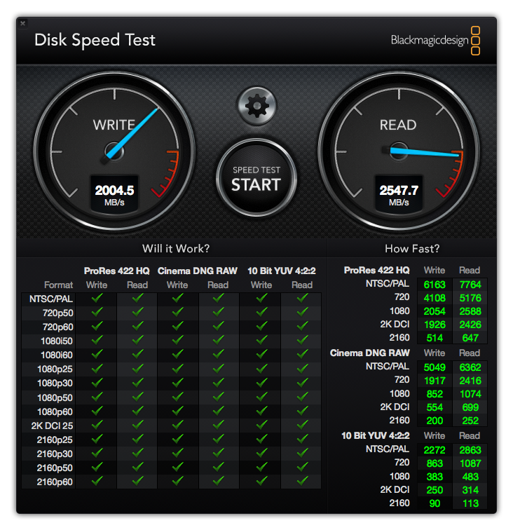 Macbook Pro Retina Late 2016 SSD interne 2 To