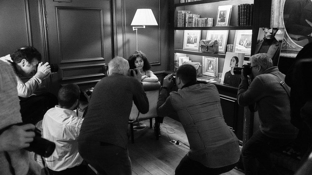 « La séance photo… » Hôtel de Sèze // Bordeaux // France. Mars 2018 ©Thierry Lothon 2018 - Leica SL