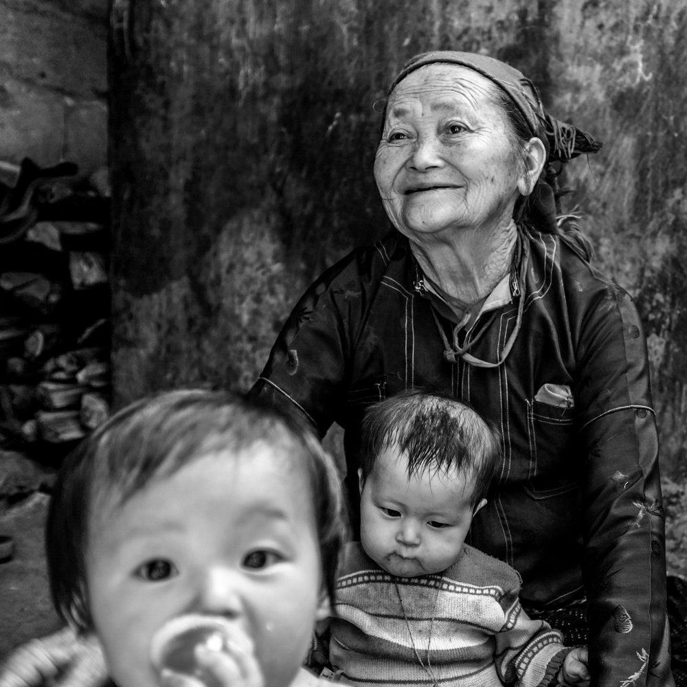 Voyage au Vietnam 2018 , petit village dans les minorités ; Fuji X100F - WCL-X100 modifié
