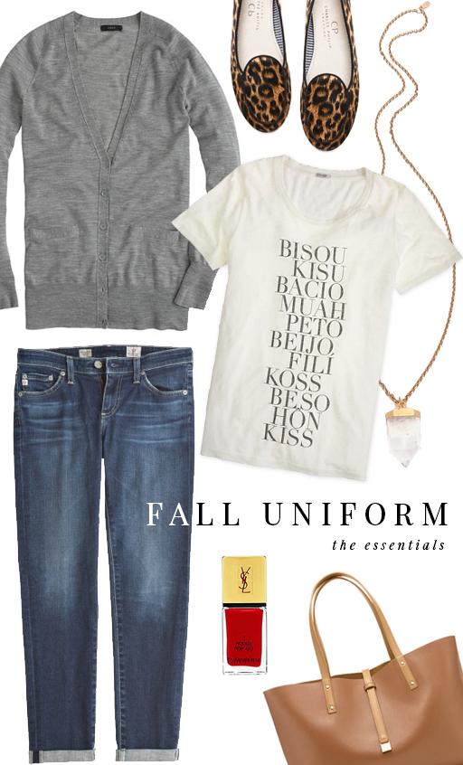 Fall Uniform via fabulouskstyle.com