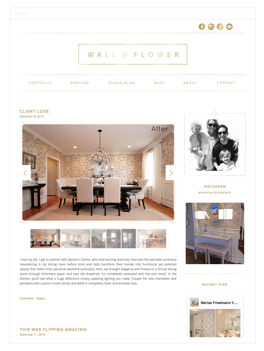Kelly Christine Studio - Website & Blog Design