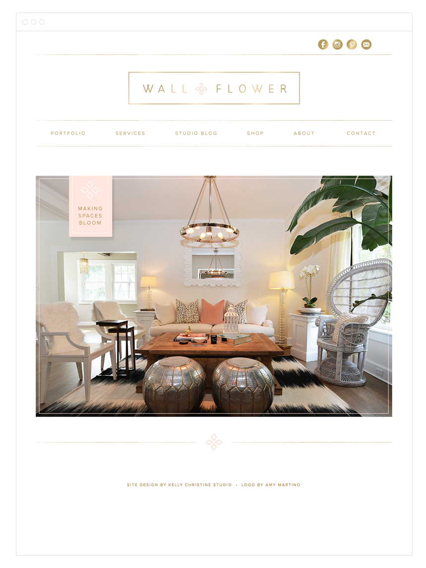 Website Design by Kelly Christine Studio