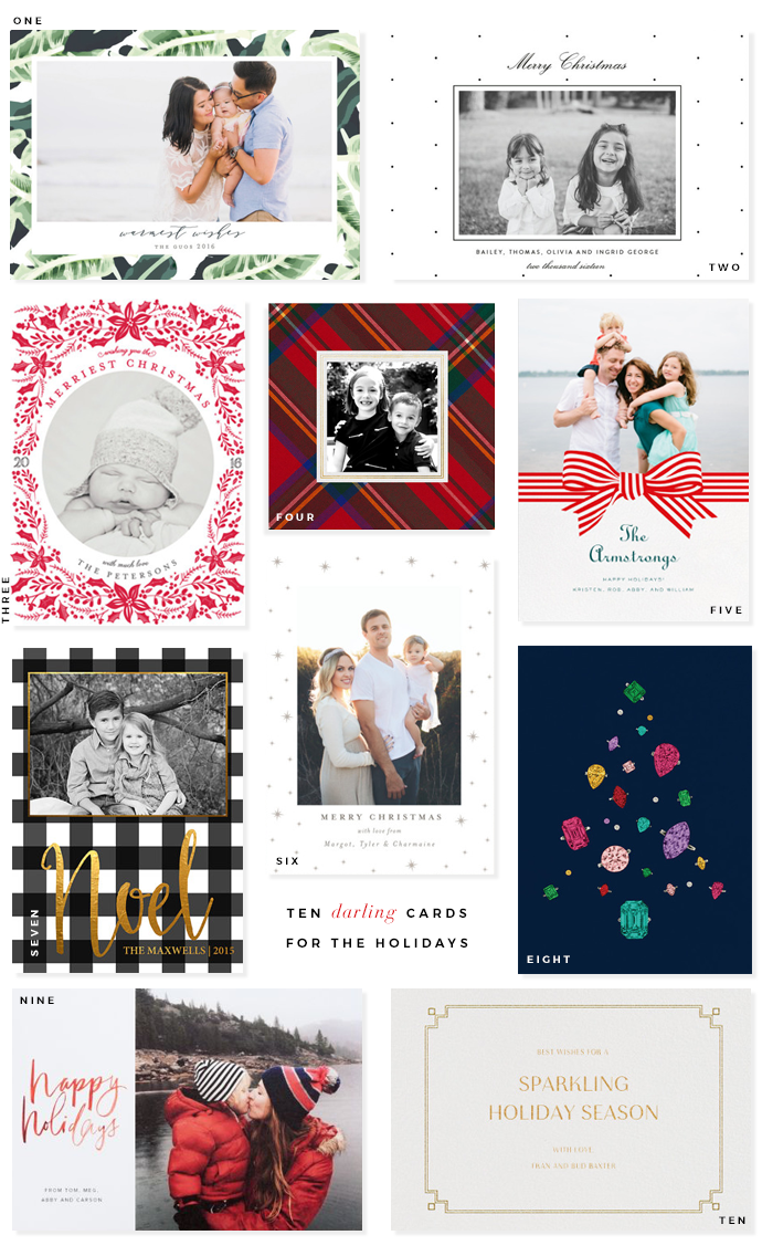 Darling Holiday Cards