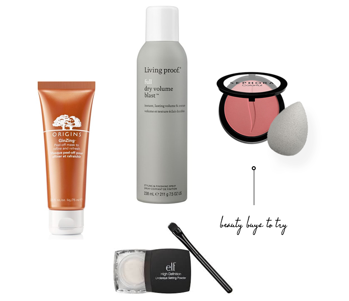 5 Beauty Buys to Try