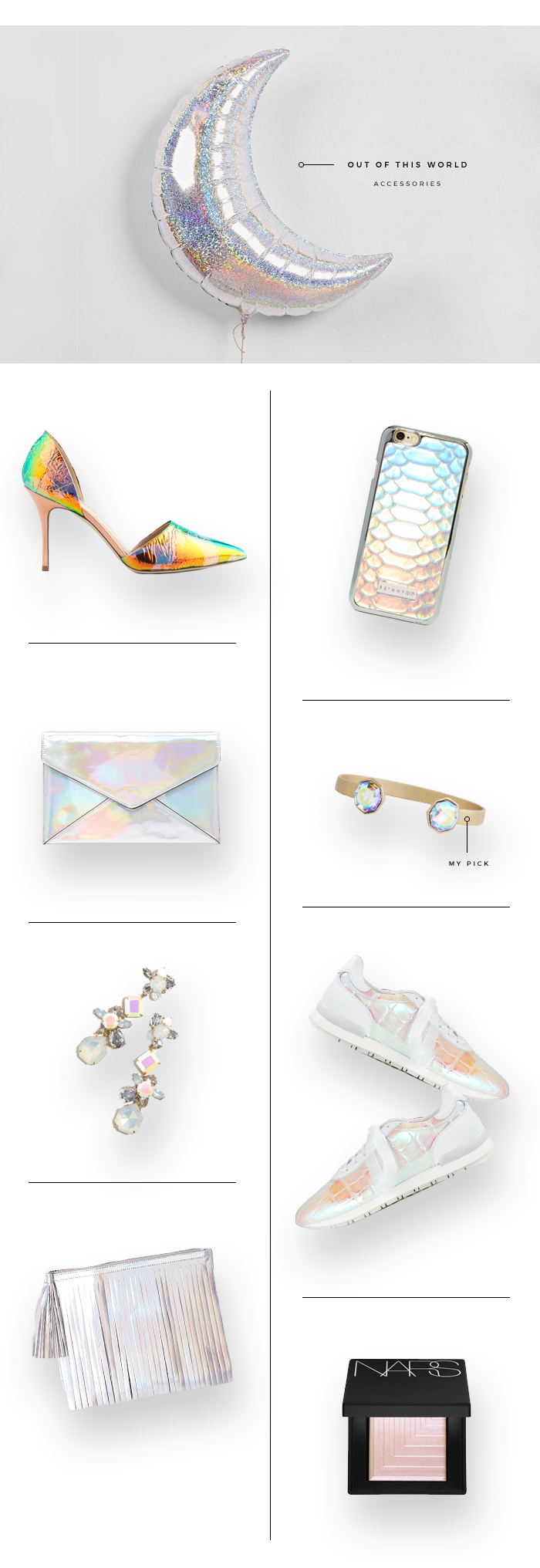 Holographic Accents