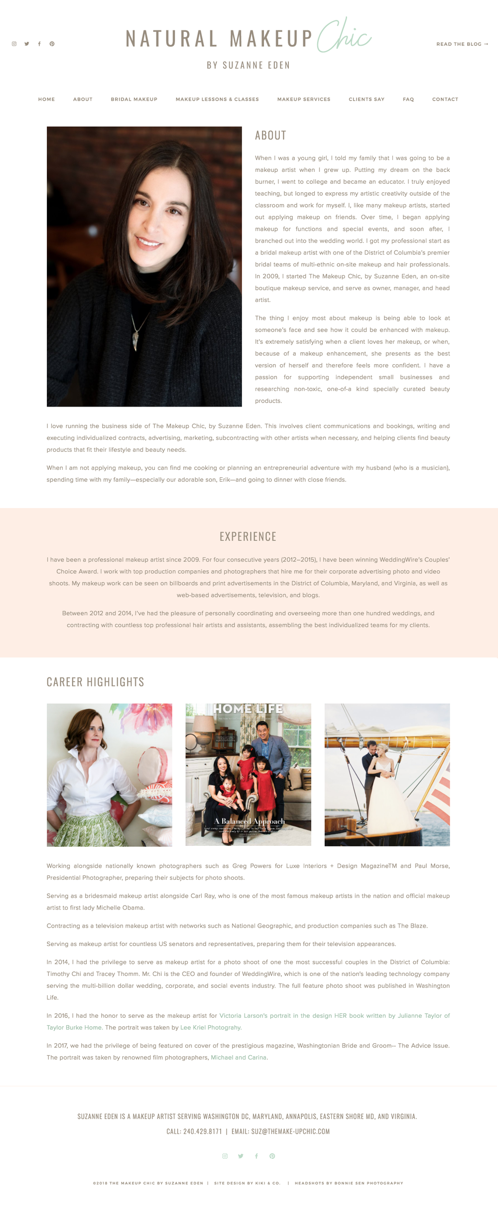 Site design by Kiki Co. Creative
