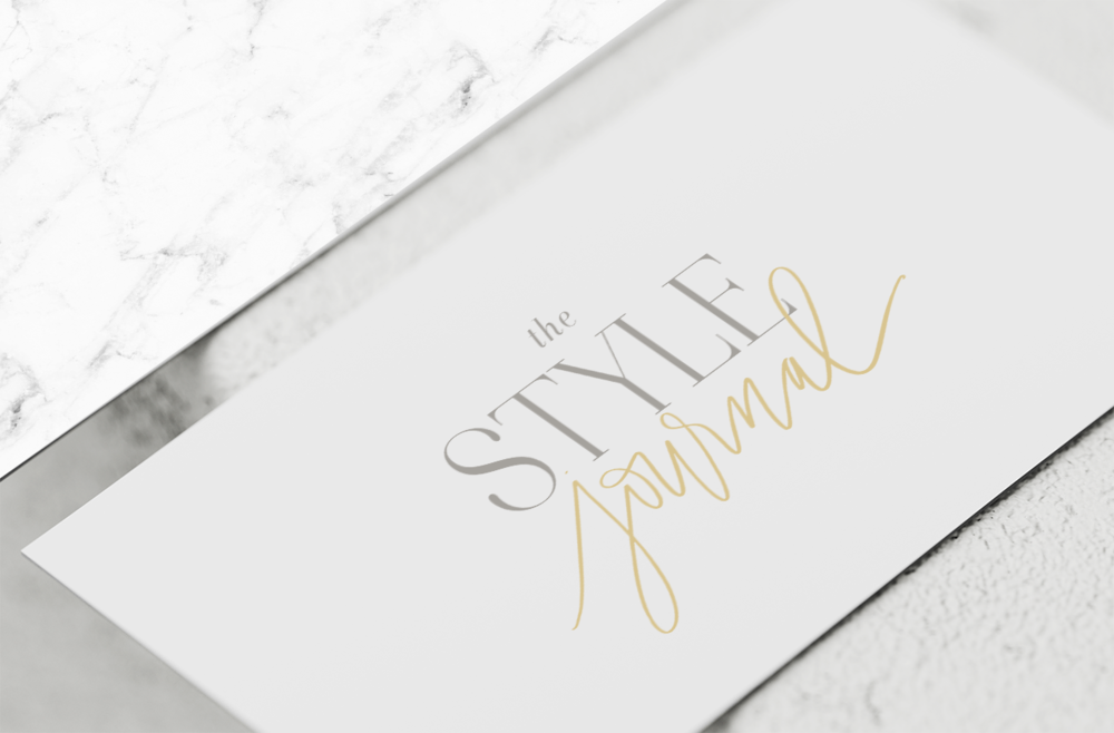The Style Journal Branding by Kiki & Co.