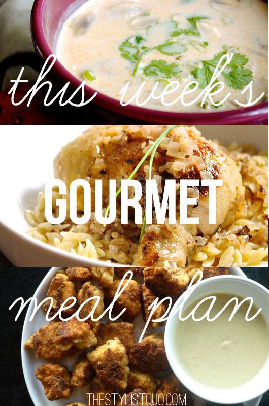 Budget Gourmet Meal Plan #2