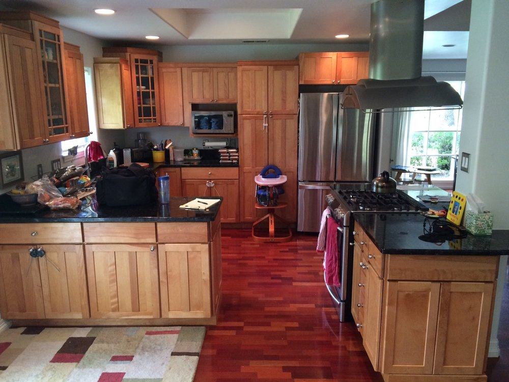 ... The Needs Were Modern Finishes And Storage For A Growing Family, And  The Focus Areas (like Almost 70% Of Renovations) Were The Kitchen And  Master Bath.