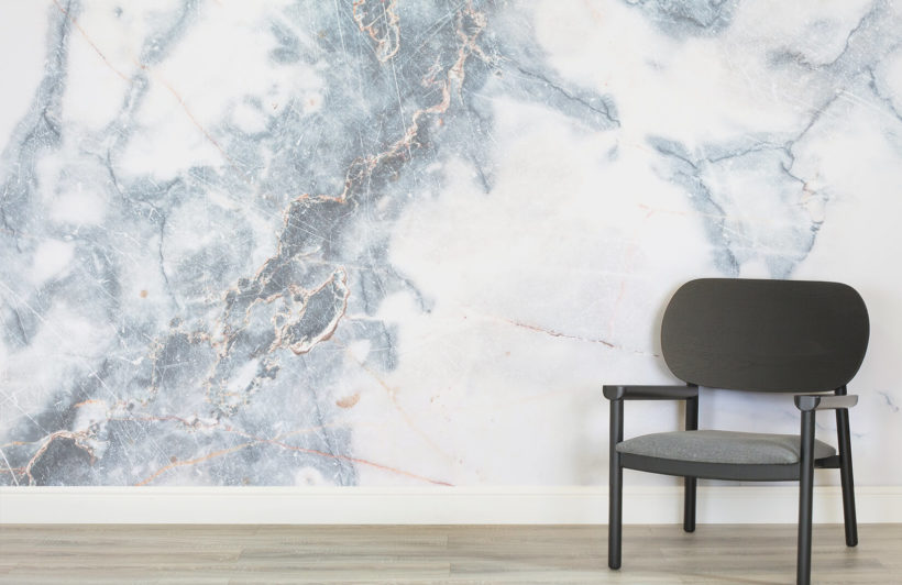 round up wallpaper \u2014 willow coral interiorsit looks like marble is here to stay, and this gorgeous mural wallpaper is an