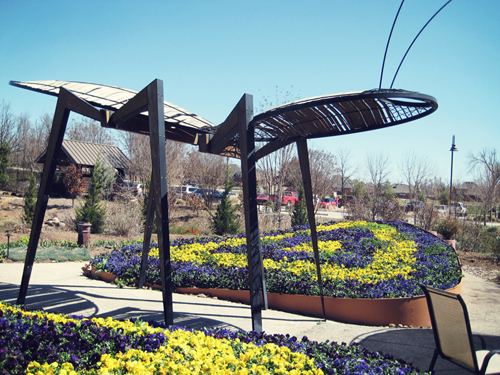 in 2003 stuart fulbright was awarded three first place designs as part of a competition sponsored by and for the ozark botanical gardens in northwest - Botanical Garden Of The Ozarks
