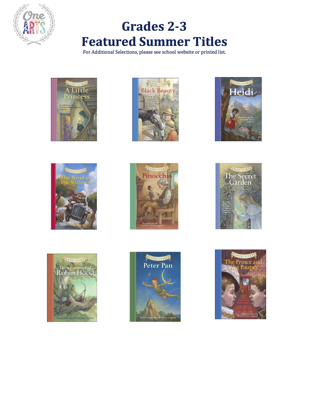 Grades 2 -3 Featured Summer Titles 2015.jpeg