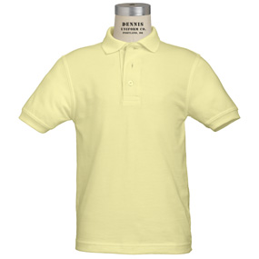Yellow uniform shirt