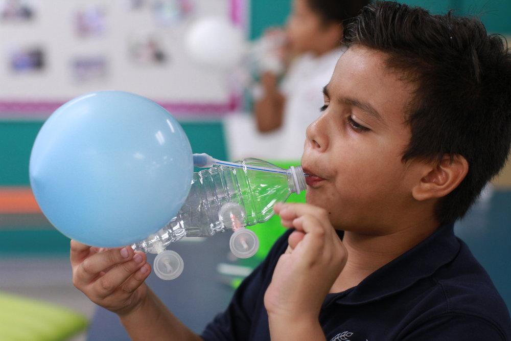 Balloon Powered Cars - 3rd Grade